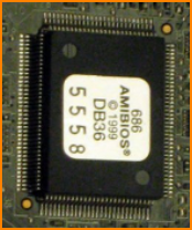 Chip showing AmiBIOS label