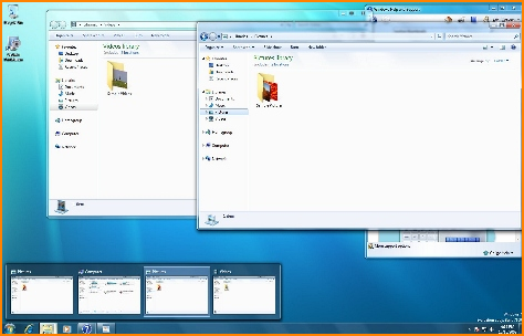 Windows 7 Preview Thumbnails